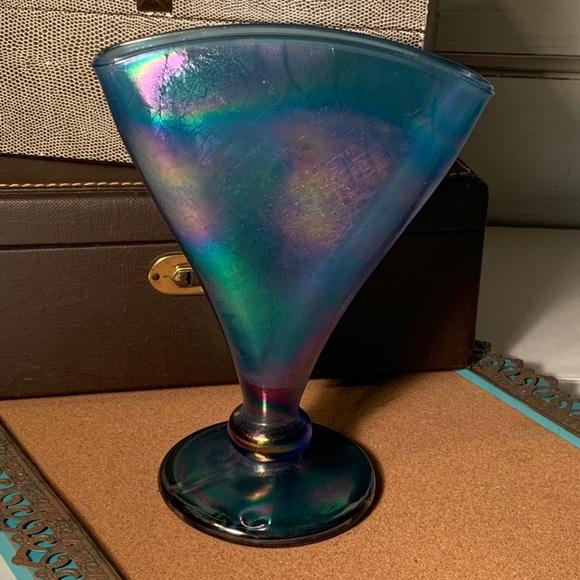 Vintage Fenton Fan Carnival Glass Fan
